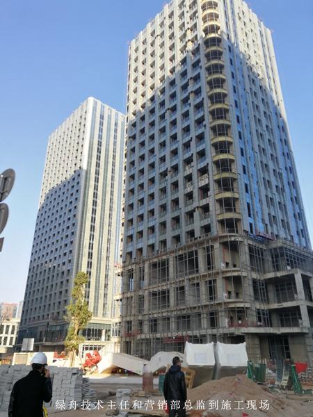 云南抗裂砂浆的使用案例-润城改造项目